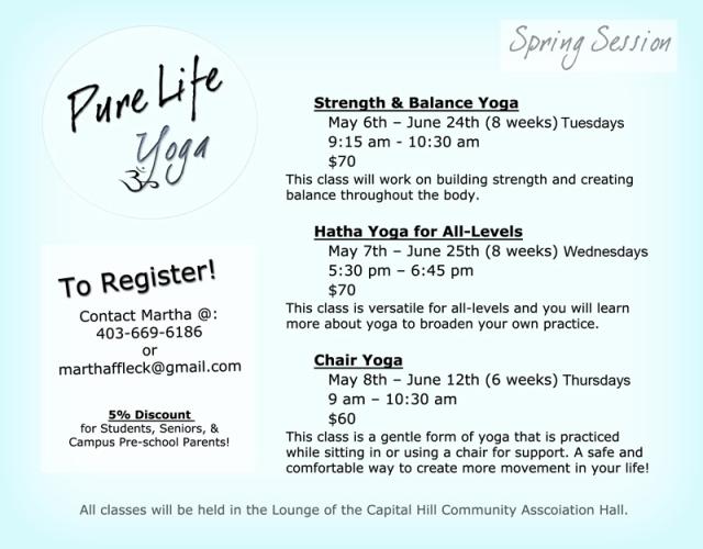 Yoga AD Spring