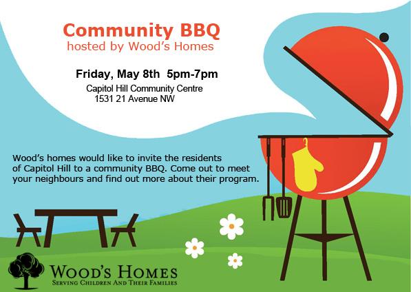 Woods homes BBQ