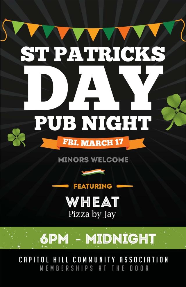 St Patrick's Day Festival Flyer Template.psd