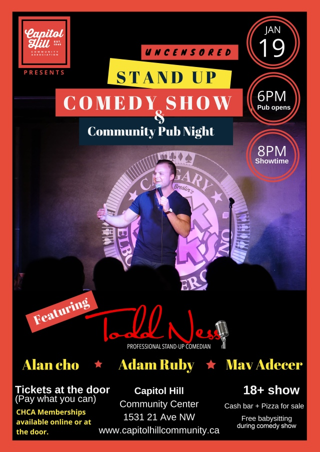 StandUp Comedy Poster